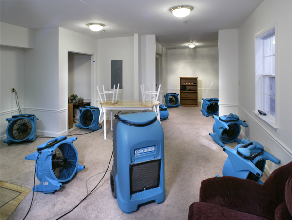 Water Damage Roseville CA